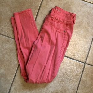 Pants - High waisted Pink pants